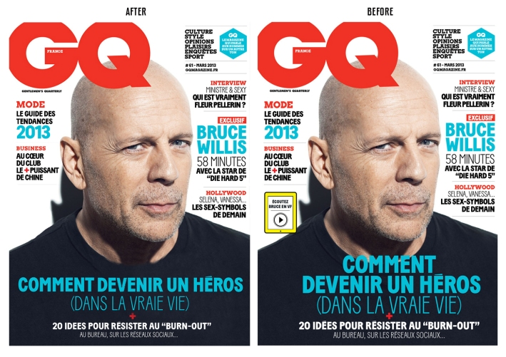 BRUCE WILLIS GQ FRANCE