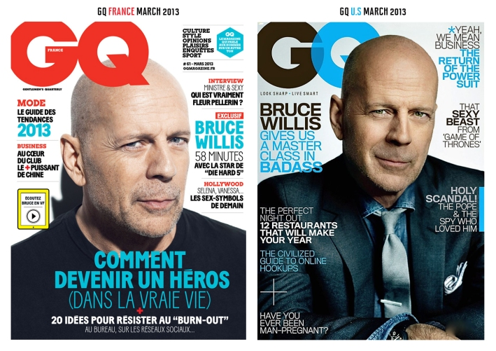 GQ US AND FRENCH MARCH 2013
